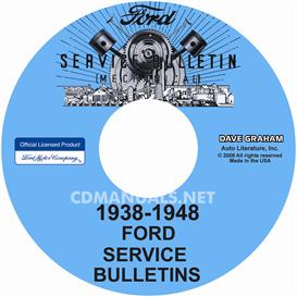 1938-1948 Ford, Lincoln, Mercury Service Bulletins Repair Manual | eBooks | Automotive