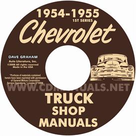 1954-1955 1st Series CHEVROLET PICKUP & TRUCK | eBooks | Automotive