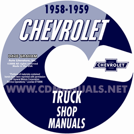 1958-1959 Chevrolet Pickup & Truck | eBooks | Automotive