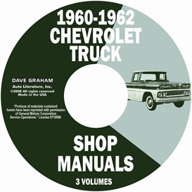 1960-1962 Chevrolet Pickup & Truck | eBooks | Automotive