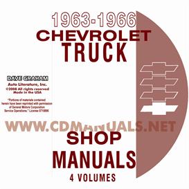 1963-1966 chevrolet pickup, truck, & van