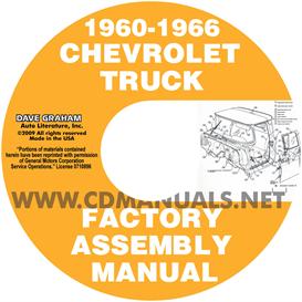 1960-1966 Chevrolet And Gmc Pickup Truck Assembly Manual | eBooks | Automotive