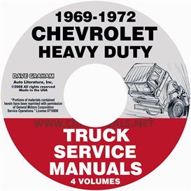 1969-1972 chevrolet 70-80 heavy truck service manual