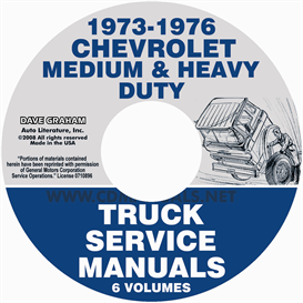 1973-1976 chevrolet medium and heavy duty truck service manual