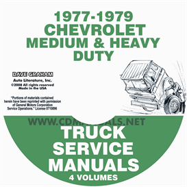 1977-1979 chevrolet medium and heavy duty truck service manual