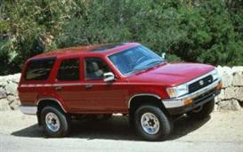 1992 toyota 4runner mvma