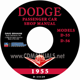 1955 dodge service manual - all models