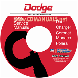 1969 Dodge Service Manuals - All Models | eBooks | Automotive