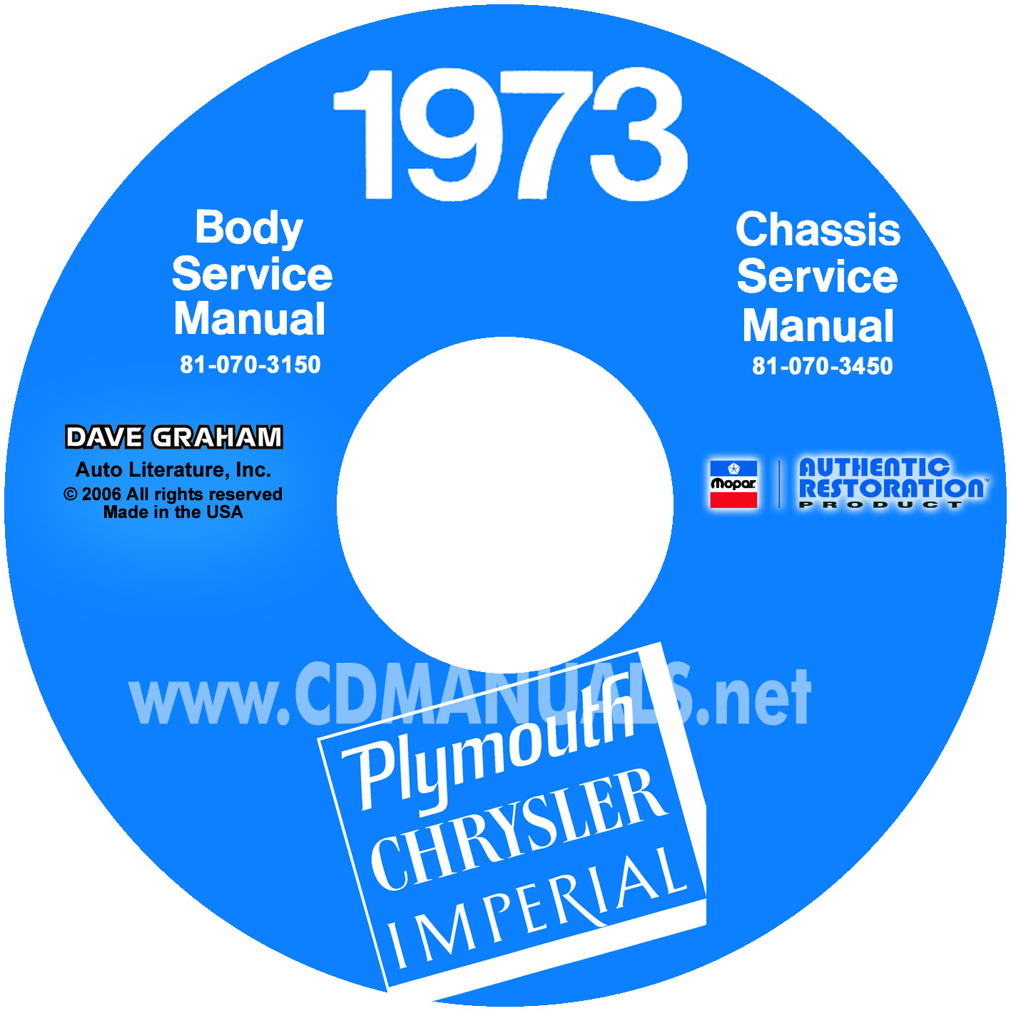 1973 Plymouth  U0026 Chrysler Shop Manual