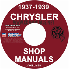 1937-1939 chrysler shop manual all models