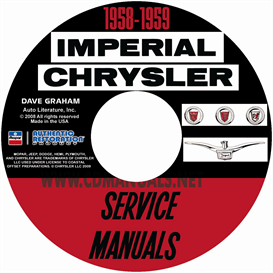 1958-1959 chrysler shop manual all models