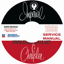 1963 chrysler shop manual all models
