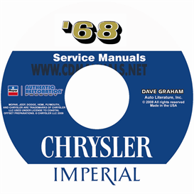 1968 chrysler shop manual all models