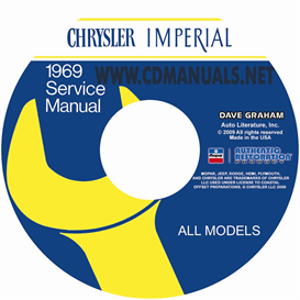 1969 chrysler shop manual all models