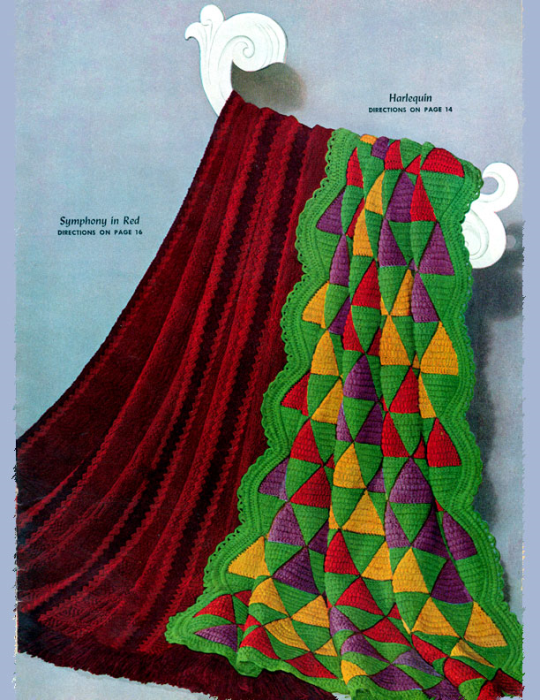 Second Additional product image for - Star Afghan Book   Star Book 17   American Thread Company DIGITALLY RESTORED PDF