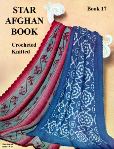 star afghan book | star book 17 | american thread company digitally restored pdf