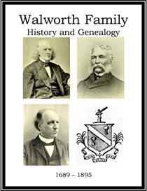 Walworth Family History and Genealogy | eBooks | History