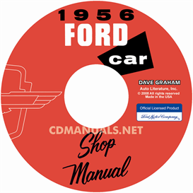 1956 Ford Shop Manual - All Models | eBooks | Automotive
