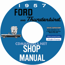 1957 ford car shop manual