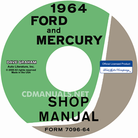 1964 ford shop manual - all models