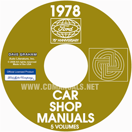 1978 Ford, Lincoln And Mercury Shop Manuals | eBooks | Automotive