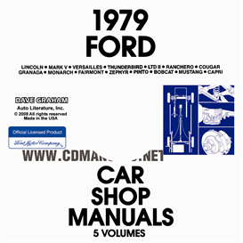 1979 Ford, Lincoln And Mercury Shop Manuals | eBooks | Automotive