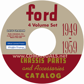 1949-1959 Ford Parts Books | eBooks | Automotive