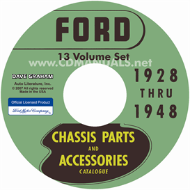 1928-1948 ford parts books