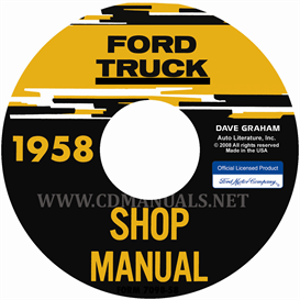1958 Ford Truck Shop Manual | eBooks | Automotive