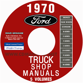 1970 Ford Truck Shop Manuals | eBooks | Automotive