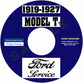 1919-1927 ford model t service manual