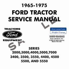 1965-1975 Ford Tractor Service Manual | eBooks | Automotive