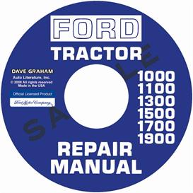 1973-1983 tractor shop manual 1000-1900