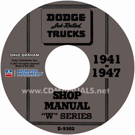 1941-1947 Dodge Pickup & Truck Cd Shop Manual | eBooks | Automotive