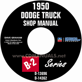 1950 dodge pickup & truck shop manual