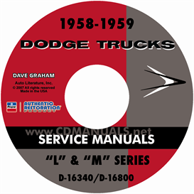 1958-1959 dodge truck manual - all models