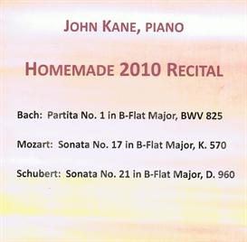 Homemade 2010 Recital Bach Bb Partita 2 Allemande MP3 | Music | Classical