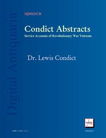 Condict Abstracts: Revolution Veterans Pension Applications | eBooks | History
