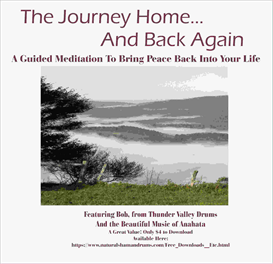 journey home and back again, featuring bob and the music of anahata