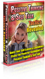 positive thinking and self talk tactics revealed  resell rights