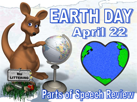 earth day parts of speech powerpoint