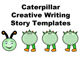 caterpillar creative writing story templates