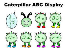 caterpillar abc display