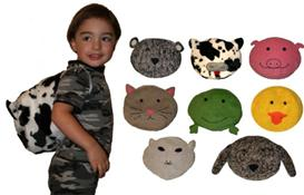 Animal Pals Backpack Pattern | eBooks | Arts and Crafts