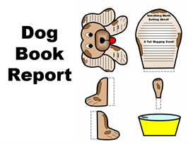 dog book report set