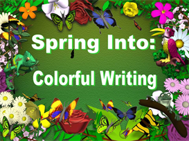 Spring Colorful Writing Powerpoint Set | Other Files | Documents and Forms