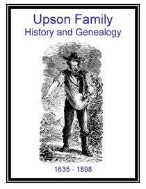 Upson Family History and Genealogy   eBooks   History