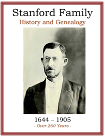 Stanford Family History and Genealogy   eBooks   History