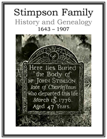 Stimpson Family History and Genealogy | eBooks | History