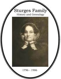 Sturges Family History and Genealogy   eBooks   History